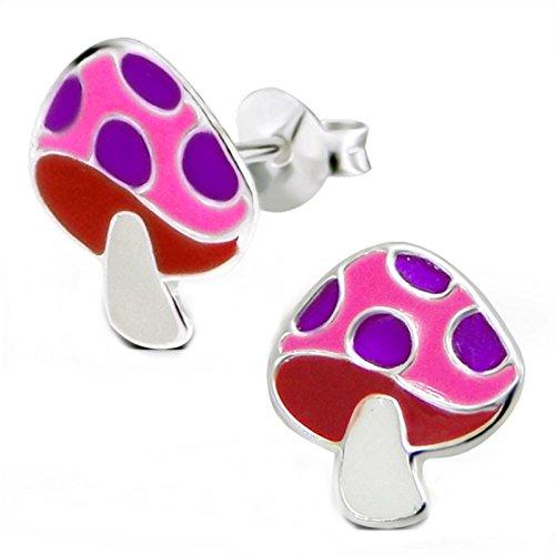 FIVE-D Twins Fashion « Lana » - Pantofole da Donna, in Pile I Antiscivolo, Diversi Colori (36/37, Viola)