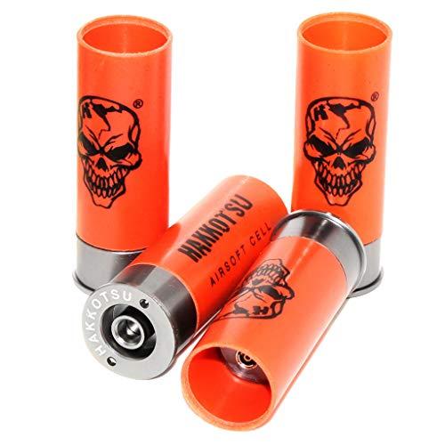 Generic Airsoft Spares Parts APS 4pcs x11rd XPower Co2 MK1 MK-I MK-3 MK-III CAM870 Shotgun Cartridge Shell Cartouche de Fusil de Chasse Orange