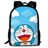 Doraemon - Mochila informal con diseño de cielo azul