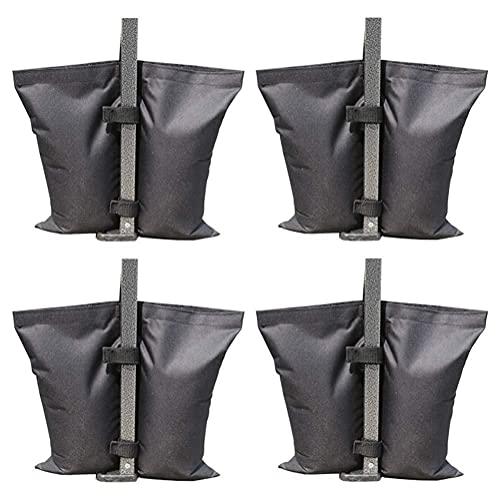 KHBNHJ Bolsa de peso para la pierna de la tienda, 8 unidades, bolsa de arena, toldo para tienda de campaña, bolsas de pesos para miradores de jardín, pérgolas, tienda de campaña, paraguas de patio