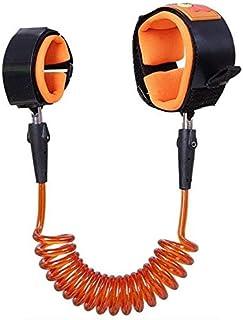 اسورة واير أمان لحماية الأطفال من الفقد و السرقة 1.5متر لون برتقالي