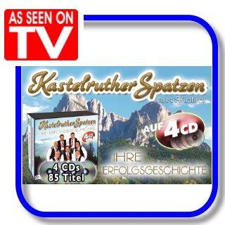 Kastelruther Spatzen - Ihre Erfolgsgeschichte   4CDs   85 Hits