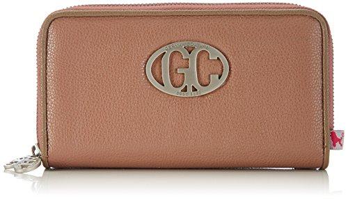 poodlebag® German Couture-Cash Big Geldbeutel, Portmonee, Münzbörsen 18x3x11 cm (B x H x T) Mauve/Stone