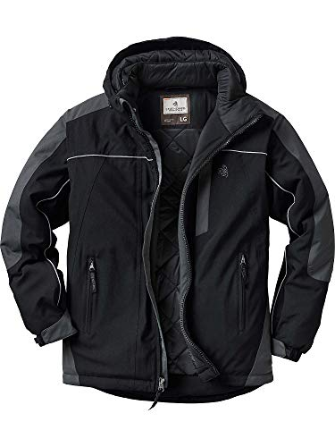 Legendary Whitetails Men's Glacier Ridge Pro Series Winter Jacket Black Medium
