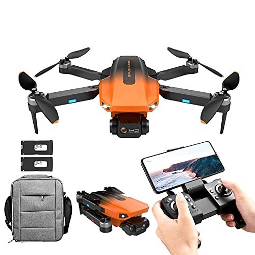 JJDSN Drone GPS RG101 con videocamera 4K per Adulti, videocamera HD Anti-Vibrazione a 2 Assi Video in Diretta FPV, quadricottero RC Senza spazzole, Ritorno Automatico, seguimi, Tempo di Volo di 50