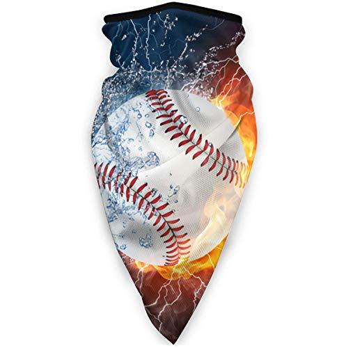 OUY Love Cool Baseball Atmungsaktiver Nackenschutz Beinschutz Gesichtsmaske Gesichtsschal Turban Sturmhaube Hut Schal Herren und Damen Gesichtsmaske