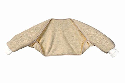 Set Odenwälder BabyNest Ärmelinchen & Windel Blaubaer   Schlafsackärmel Winterschlafsack   Schlafsack Ärmel für Babyschlafsack   Oberstoff 100% Baumwolle