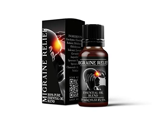 Mystic Moments | Migraine Relief - Essential Oil Blend - 10ml
