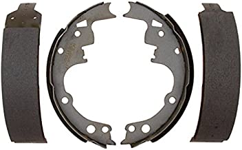 ACDelco Silver 14514B Bonded Rear Drum Brake Shoe Set