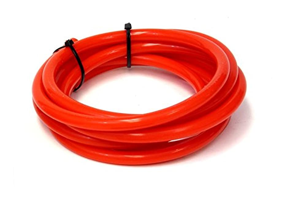 HPS HTSVH10-RED Red 1' Length High Temperature Silicone Vacuum Tubing Hose (40 psi Maxium Pressure, 10mm ID)
