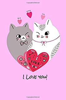 I love you!: Nurse notebook journal/organizer for gift: Lined paper writing 120 College Ruled Pages (poplar standard size ...