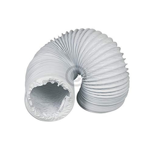 VIOKS 3m Abluftschlauch Schlauch für Abluft Luftführungssysteme Durchmesser: 125 mm 12,5 cm Schlauch Länge: 3,0 Meter