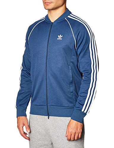 adidas Mens SST Tt Jacket, Night Marine, XL