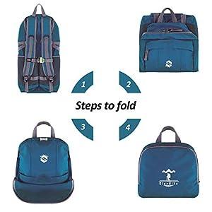 OlarHike Hiking Travel Backpack, Packable Lightweight Camping Backpack for Men Women
