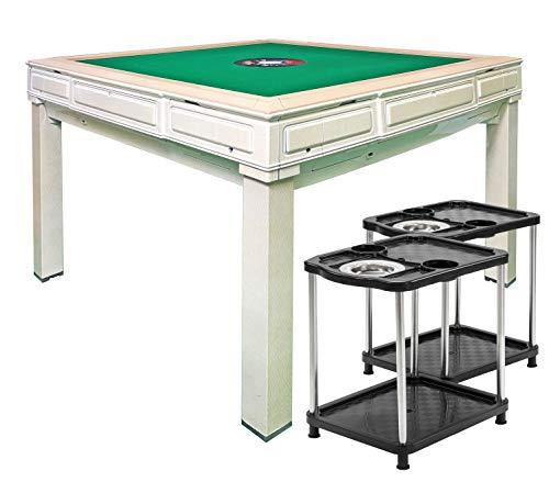 雀荘牌28mm 全自動麻雀卓ホワイトベージュ FR-XW3 ダイニングテーブル・サイドテーブル・牌洗浄ボール付