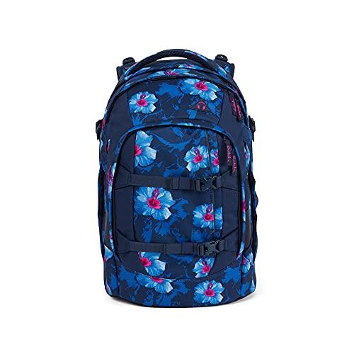 satch Pack Waikiki Blue, ergonomischer Schulrucksack, 30 Liter, Organisationstalent, Blau