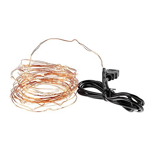 Stringa LED, Stringa di luci LED per Decorazioni per Feste, per la Sala da Pranzo della casa delle Nozze della Camera da Letto(WAM White)