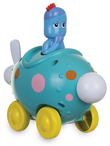 In the Night Garden Iggle Piggle Pinky Ponk Press Go Vehicle Toy
