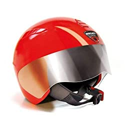 The Ducati helmet provides all the protection required thanks to the legally approved padding The Ducati Peg Perego brand safety helmet for children ages 2 and above is approved according to UNI EN1080 safety standards Designed for young children