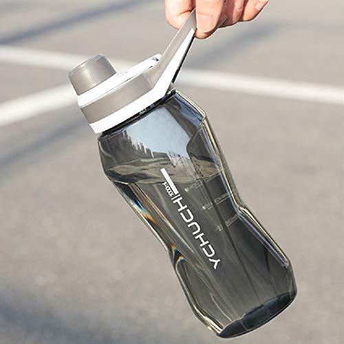 大容量ポータブル ドリンクボトル ジムフィットネス サイクリング ランニング 登山 トレーニング スポーツ用デザイン 環境に優しいBPAフリープラスチック ウォータードリンクボトル 750/1000ミリリットル (パープル, 750ML)