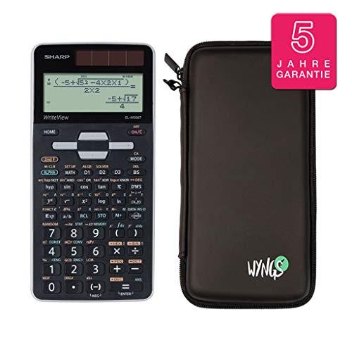 Sharp EL-W506T + Schutztasche + erweiterte Garantie