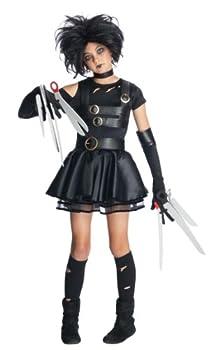 Rubie s Edward Scissorhands Teen Miss Scissorhands Costume Black Medium