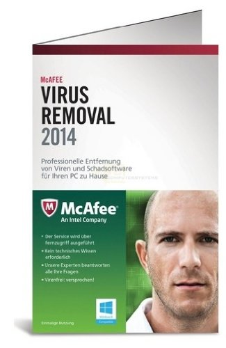 McAfee Virus Removal Service 2014