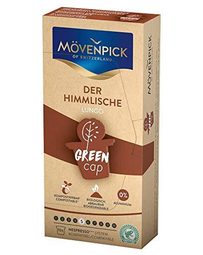 MÖVENPICK DER HIMMLISCHE LUNGO Kaffeekapseln GREEN CAP