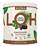 Plant-Based Protein Powder | Organic Chocolate Keto Friendly Vegan...