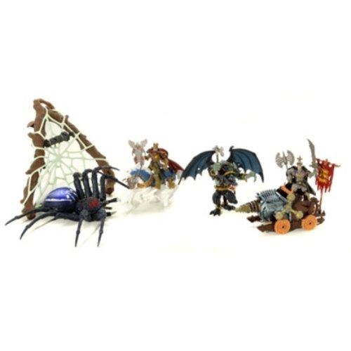 Logitoys - Figurine - Coffret Araignee Knights