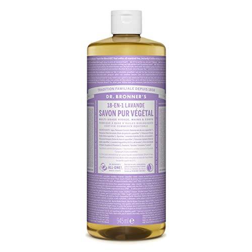 Dr. Bronner's Magic Soap Flüssigseife Lavendel, Naturseife - 945 ml
