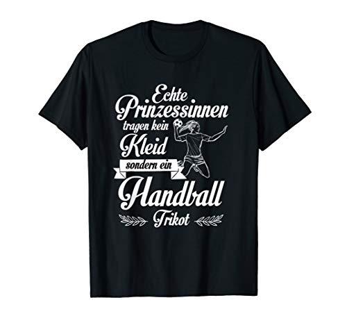 Handball Shirt Damen Tshirt Frauen Mädchen Geschenk Spruch T-Shirt