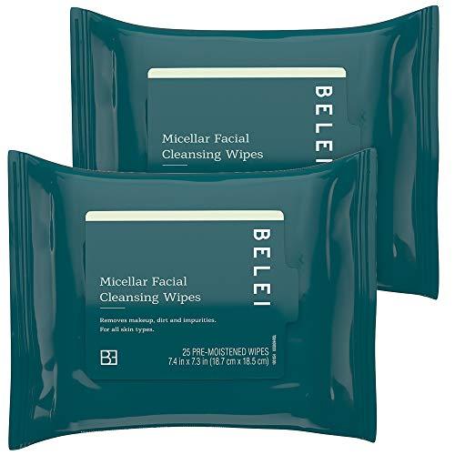 Belei Oil-Free Micellar Facial Cleansing Wipes