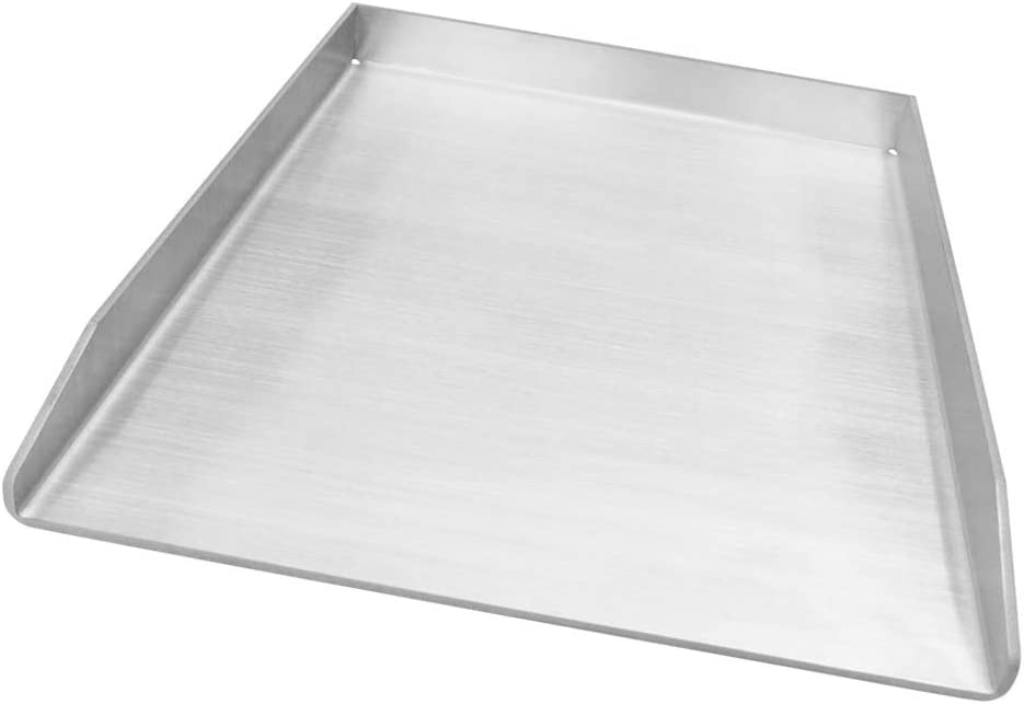 Dongftai Albuquerque Mall 15.75 Stainless Steel Griddle Pan for Outdoor free shipping Sto Grill
