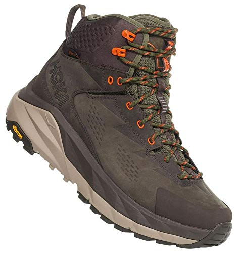 HOKA ONE ONE Sky Kaha Hiking Shoe - Men's Black Olive/Green 8