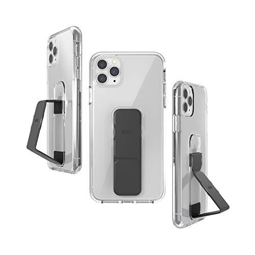 Preisvergleich Produktbild CLCKR iPhone 11 Hülle Schwarz,  Handyhülle mit Fingerhalter iPhone 11,  Hülle mit Halterung kompatibel für iPhone 11 - Glattes Schwarz