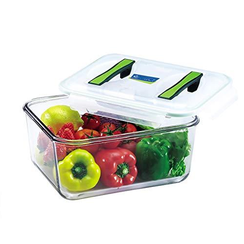 MMMP Boîtes Bento,Boîtes Alimentaires,Portable Kimchi Boîte Frais De Maintien Sealed De Grande Capacité Résistant À La Chaleur Épaissie En Verre Trempé Boîte À Lunch (Size : 6000ml)