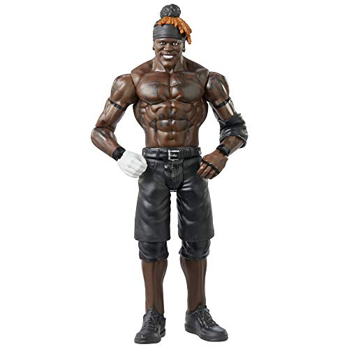 WWE GKT13 - R-Truth bewegliche WWE-Actionfigur (15 cm) im Wrestling-Look