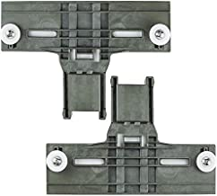 2 Pack Upgraded W10350375 Dishwasher Top Rack Adjuster 1.2in Dia Wheels Replace ap5957560 W10712395 3516330 Ap595756