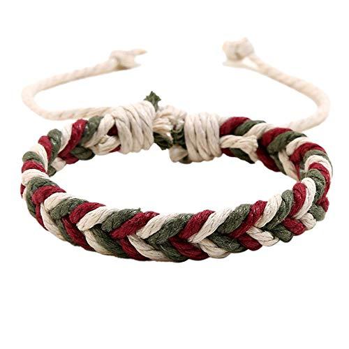 Jespeker 5PC Handmade Bohemian Braided Friendship Bracelet, Girl, boy, Parcel, Rope, Sunflower, Charm, Braid, Rope, Adjustable, Waterproof, Mother, Daughter, Sister, Friend, Gift