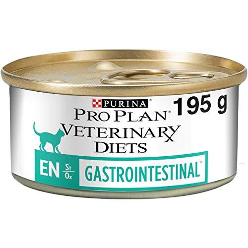 Pro Plan Veterinary Diets Feline EN - Alimento seco para Gatos gastrointestinal, 195 g, Caja de 24 🔥