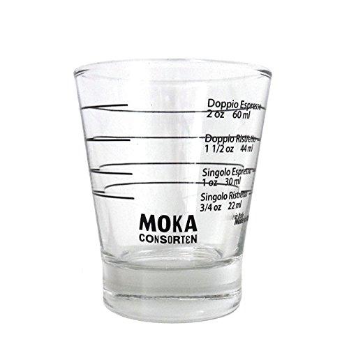 Moka Consorten Italienisches Espresso Shotglass | spülmaschinen...