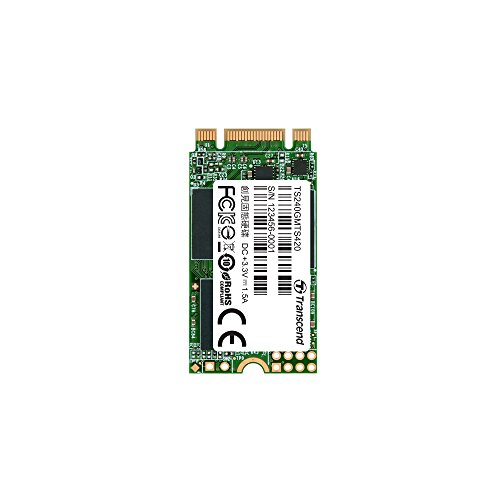 Transcend ts240gmts420M2Solid State Drive, 240GB (SATA III, 3D NAND Flash de Chip)