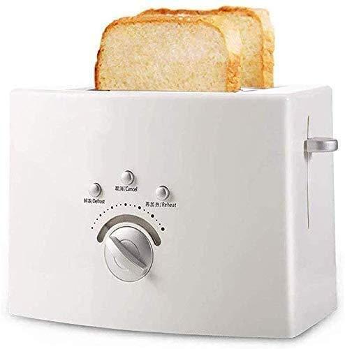Broodmachines, Broodrooster, Kleine Broodrooster met Ontdooien/opwarmen/functie annuleren, Extra Wide Slot, uitneembare kruimellade, Quickly Ontbijt Maken Thuis Broodrooster ZHW345