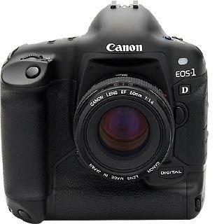 Canon EOS 1D SLR-cámara Digital (4,16 Millones de píxeles)