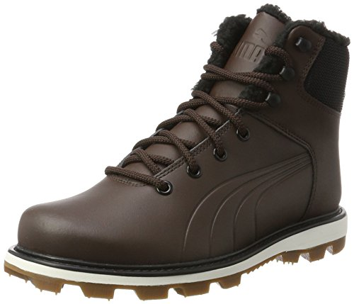 PUMA Unisex-Erwachsene Desierto Fun L Hohe Sneaker, Braun (Chocolate Brown-Chocolate Brown 02), 44 EU