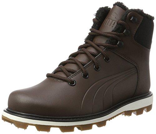 PUMA Unisex-Erwachsene Desierto Fun L Hohe Sneaker, Braun (Chocolate Brown-Chocolate Brown 02), 44.5 EU