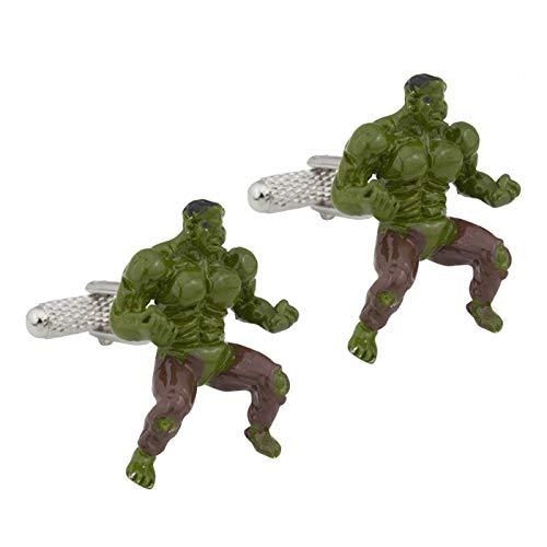 The Cufflink Store Unglaubliche Hulk Manschettenknöpfe