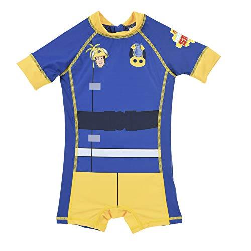 Feuerwehrmann Sam Schwimmanzug UV-Schutz 50+ (4 Jahre)
