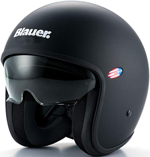 Bleu 12 cbkhu01007 – h00002-H07 L Pilot 1.1 Monochrome Helmet, Black Mat